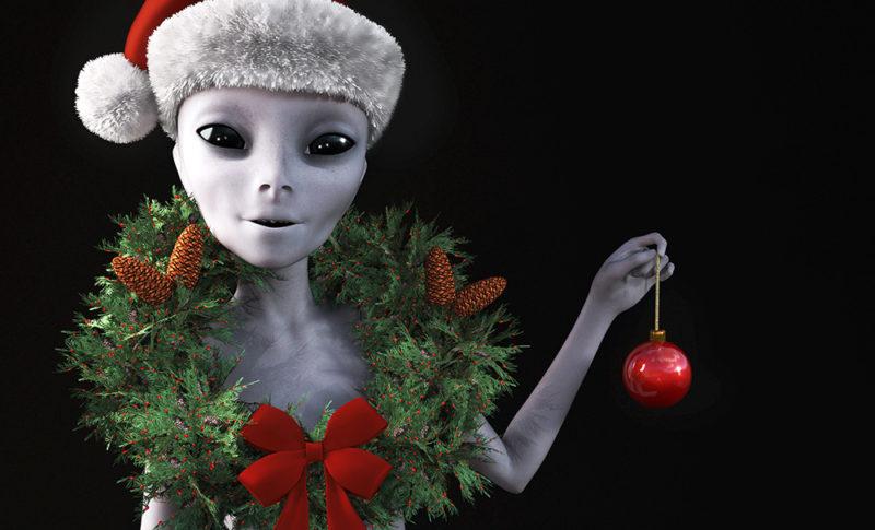 宇宙人のクリスマス