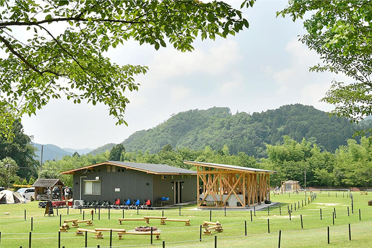 丹波篠山キャンプ場-やまもりサーキット全景
