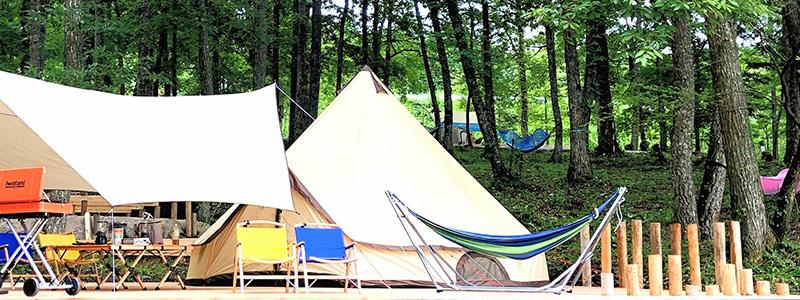 モクモクキャンプのテント