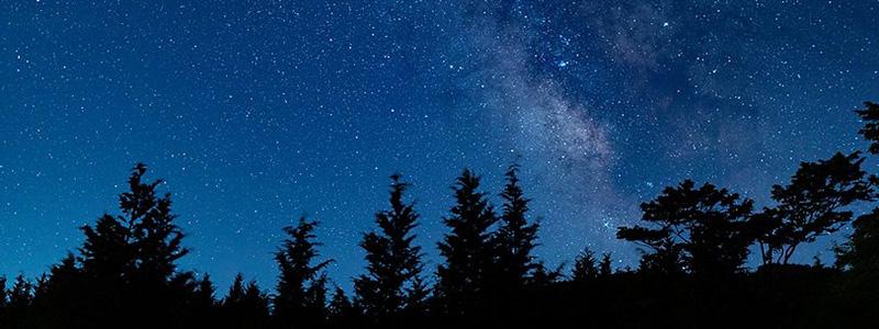 モクモクキャンプの星空